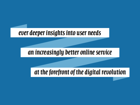 ever deeper insights into user needs