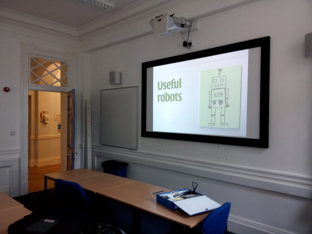 Useful robots workshop