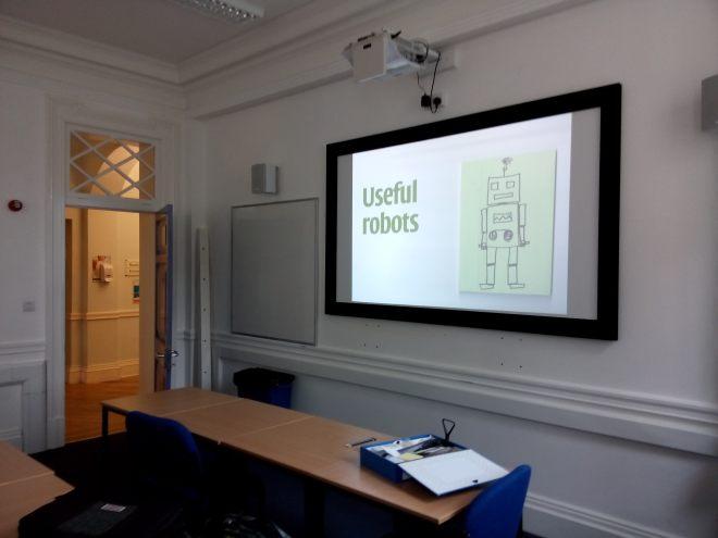 Useful robots workshop