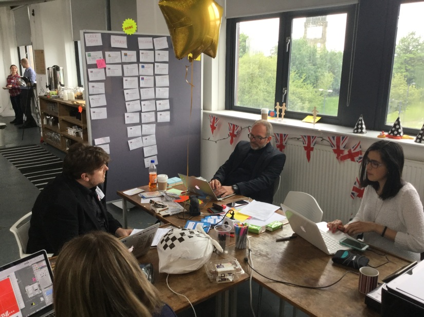 10 things I learned on the Global GovJam HQteam