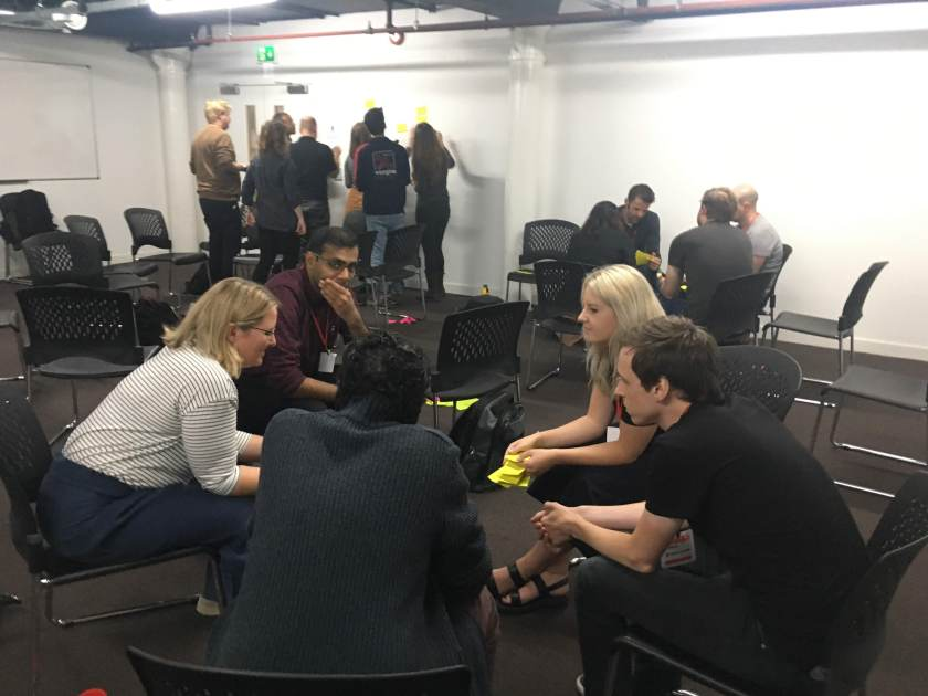 Trust session at UK Healthcamp